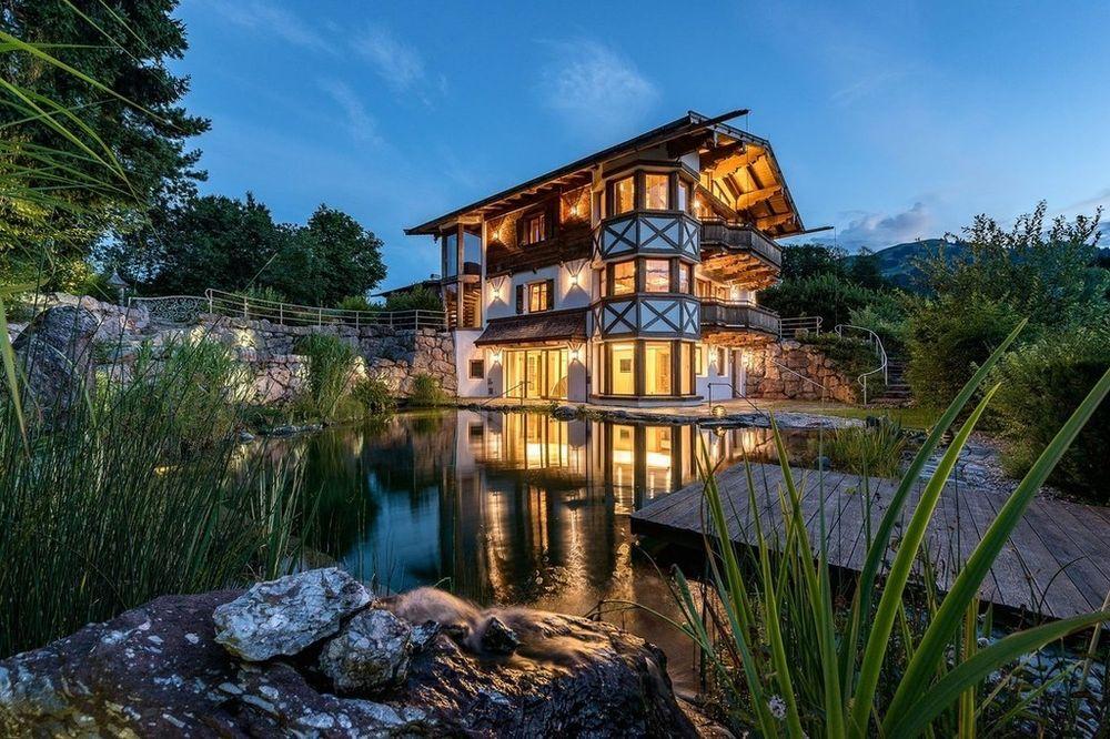 Exklusives Landhaus mit Wellnessbereich und Weinkeller in den Kitzbüheler Alpen