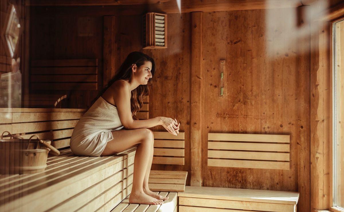 sauna verhalten handtuch