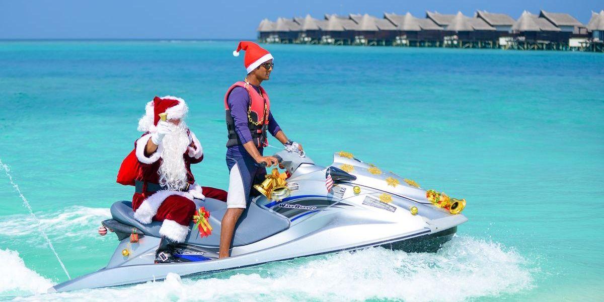 Weihnachten auf den Malediven