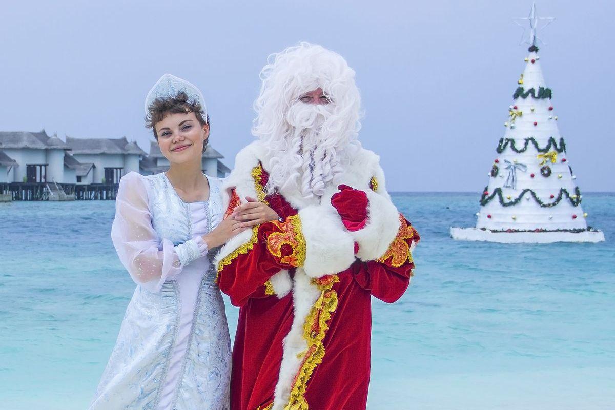 Weihnachten auf den Malediven, Jumeirah Vittaveli