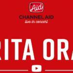 Rita Ora taut die Elbphilharmonie auf