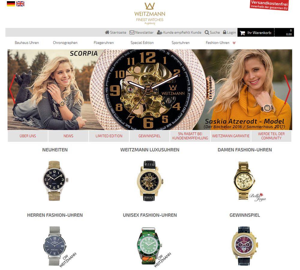 Online-Shop: otto-weitzmann.com
