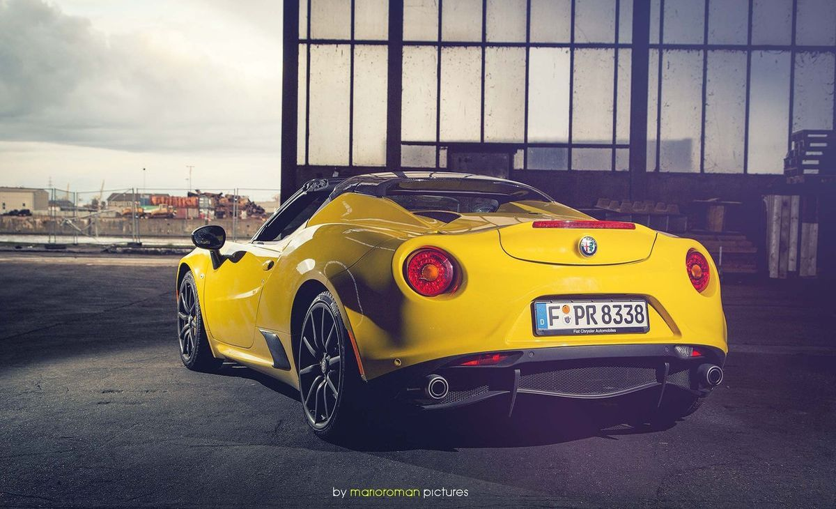 test alfa romeo 4c spider unbezahlbar shots magazin. Black Bedroom Furniture Sets. Home Design Ideas