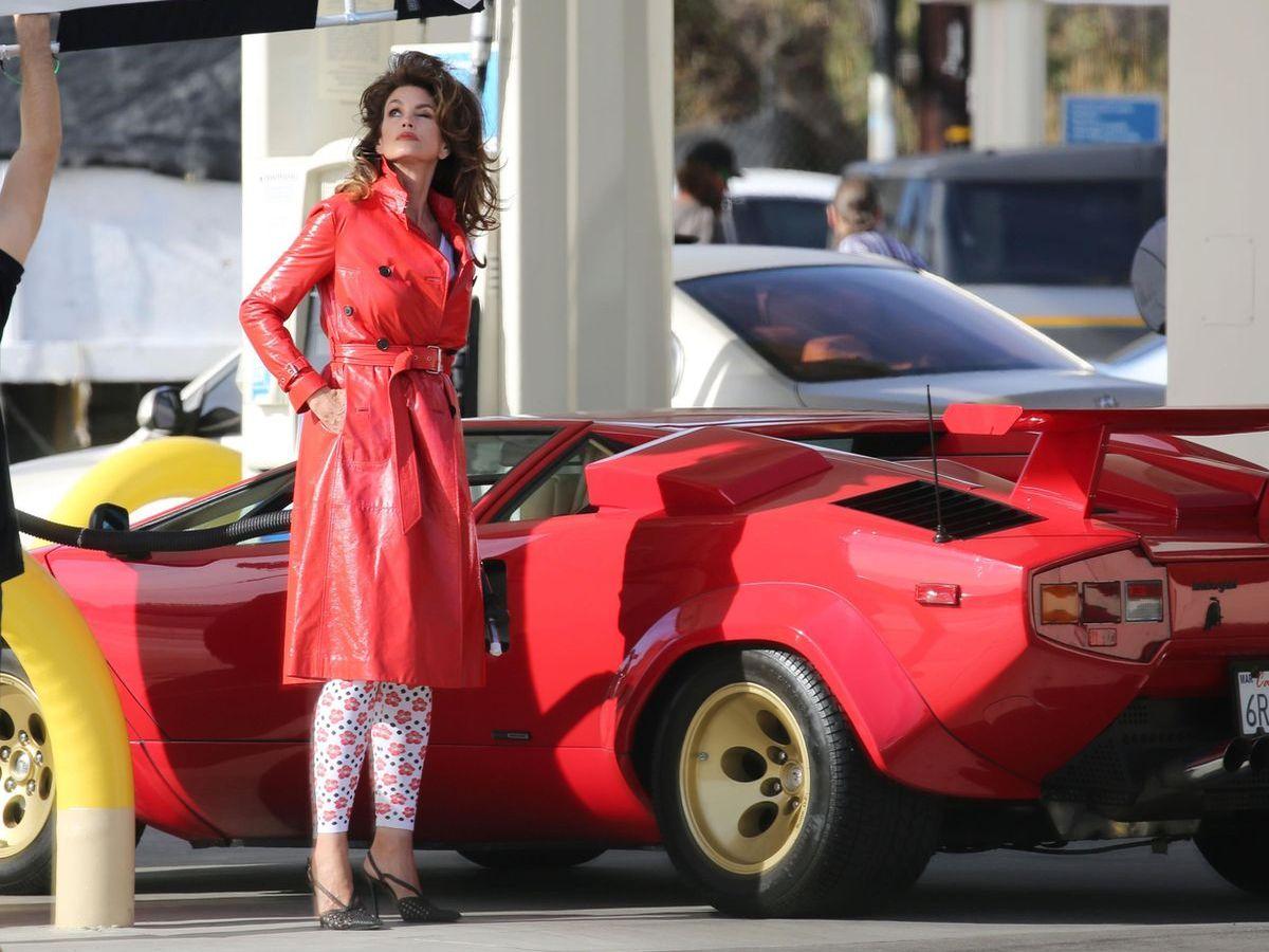 Cindy Crawford, Lamborghini Countach