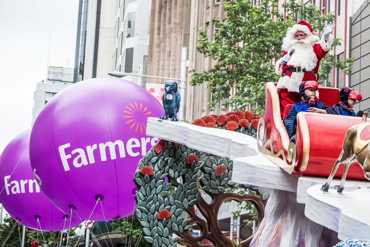 Farmers Santa Parade, Neuseeland