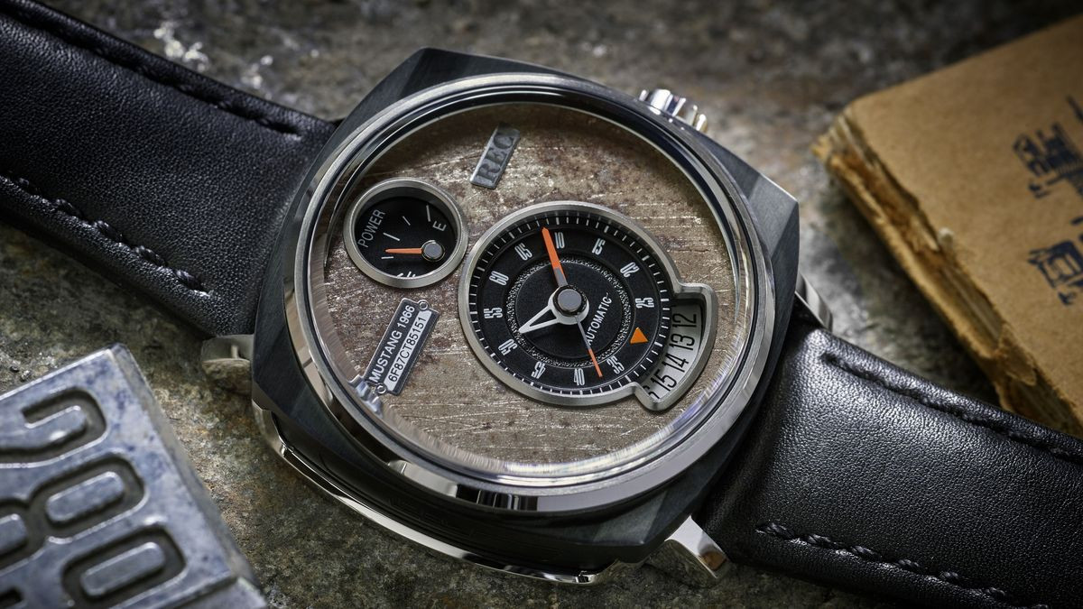 REC Watches P-51: Ford Mustang Uhr