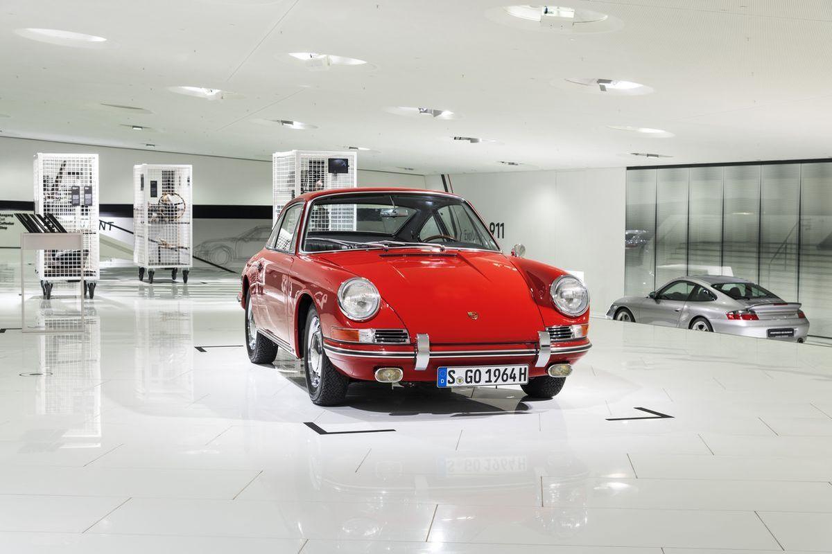 Porsche 911, Typ 901, 1964