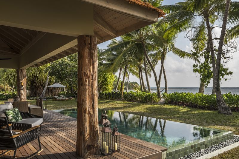 Seychellen, Desroches Island: Four Seasons Resort