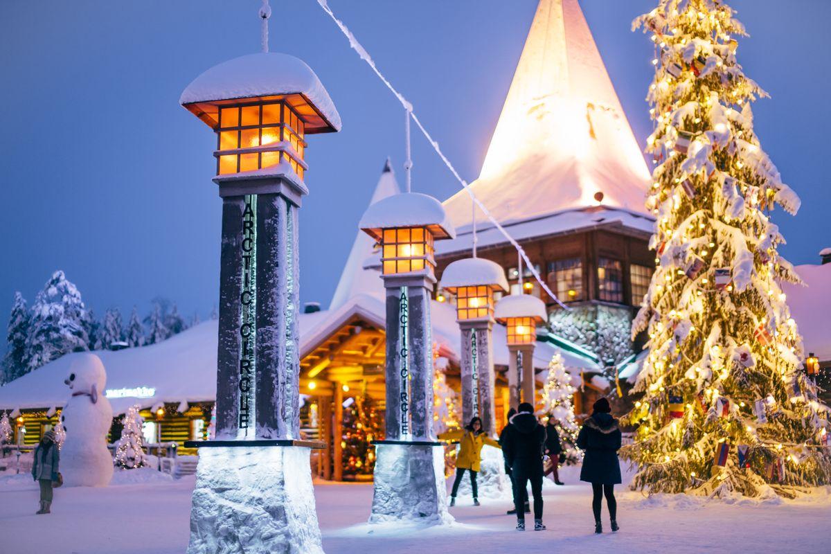 Santa Claus Village, Finnland