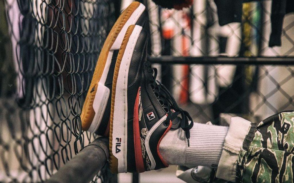 Move Sneaker: Fila T1-Mid