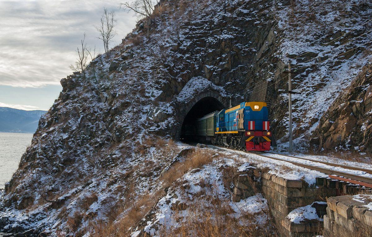 Transsibirische Eisenbahn (Moskau - Peking)