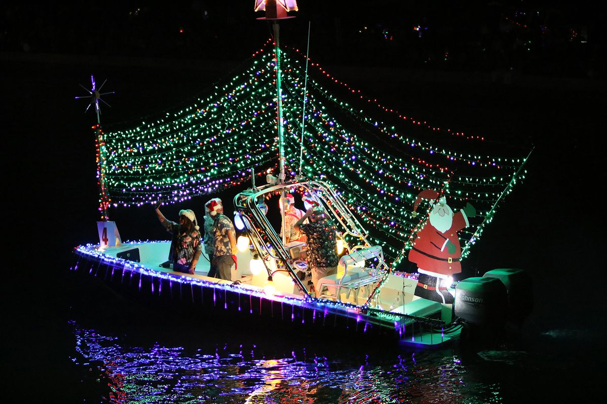 Venice Christmas Boat Parade, USA