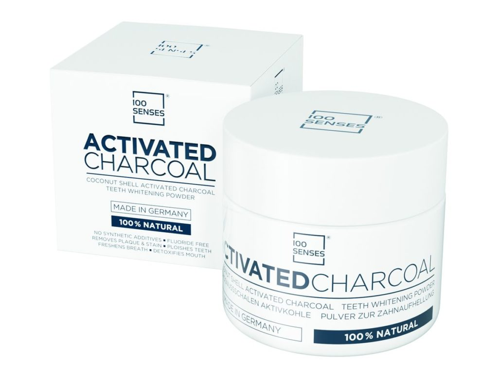 100Senses: Activated Charcoal in 30 Gramm