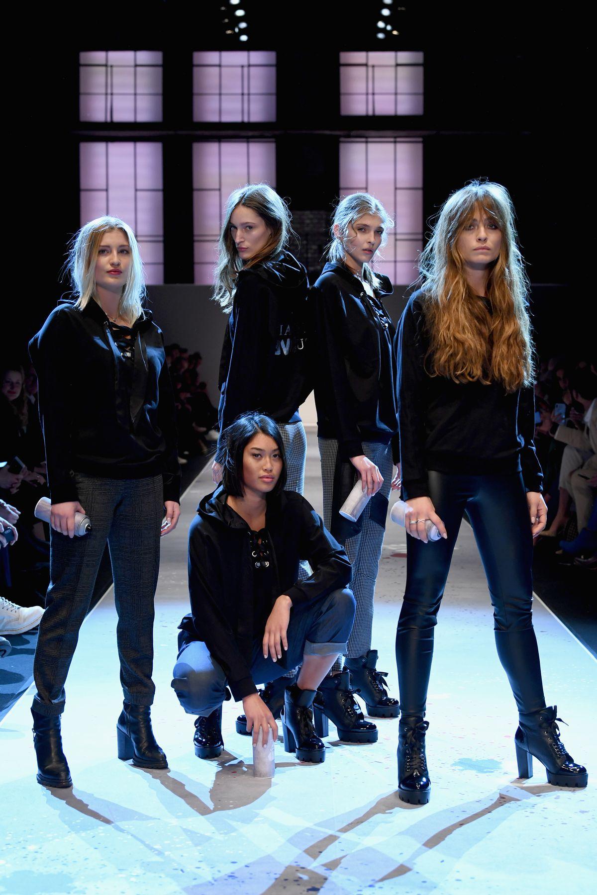 Franziska Müller, Anuthida Ploypetch und andere Models
