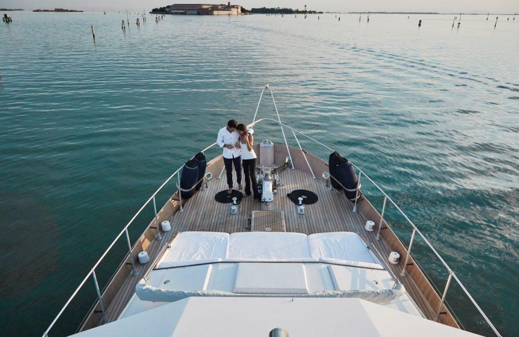 Venedig: Baglietto Yacht Experience, Sibell, Blitz Exclusive
