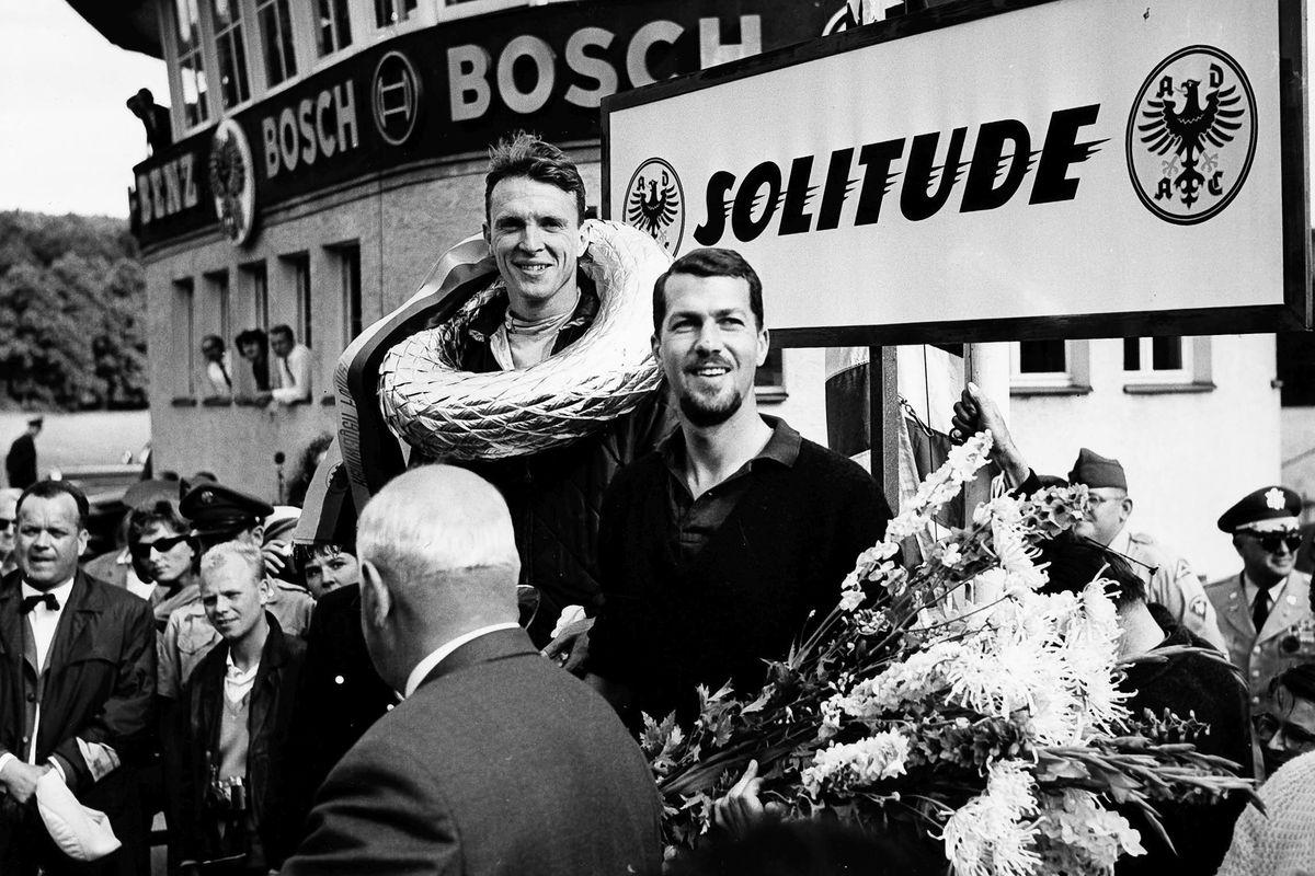1962: Dan Gurney und Joakim Bonnier