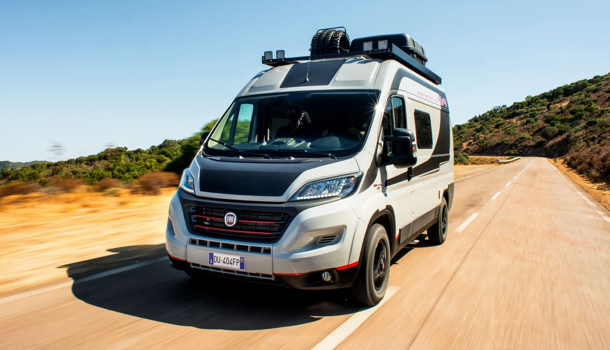 Fiat Professional, Fiat Ducato 4x4 Expedition