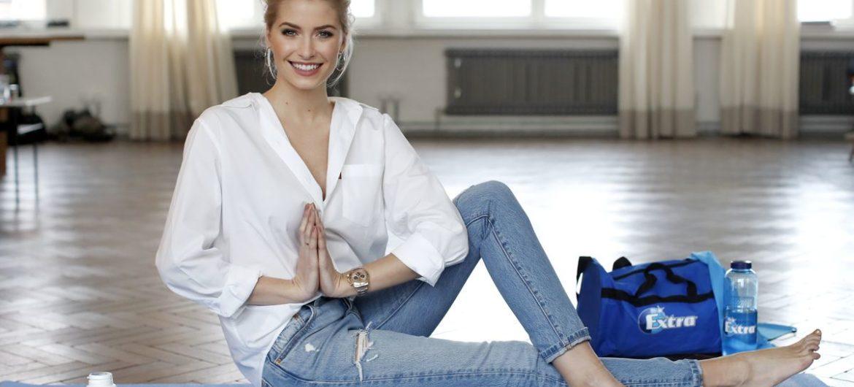 Lena Gercke hat gute Vorsätze