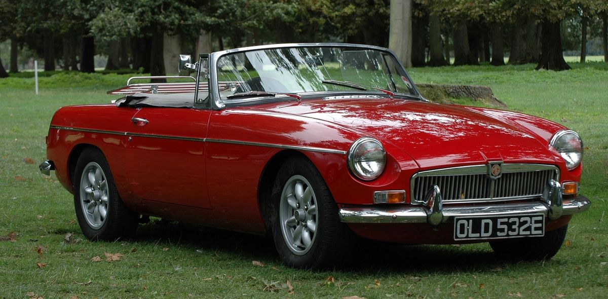 Klassiker: MGB Roadster (1962-1980)