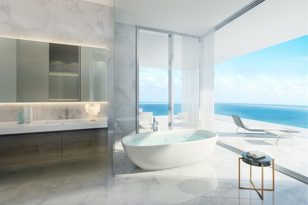 Miami, USA: Badewanne mit Atlantikblick
