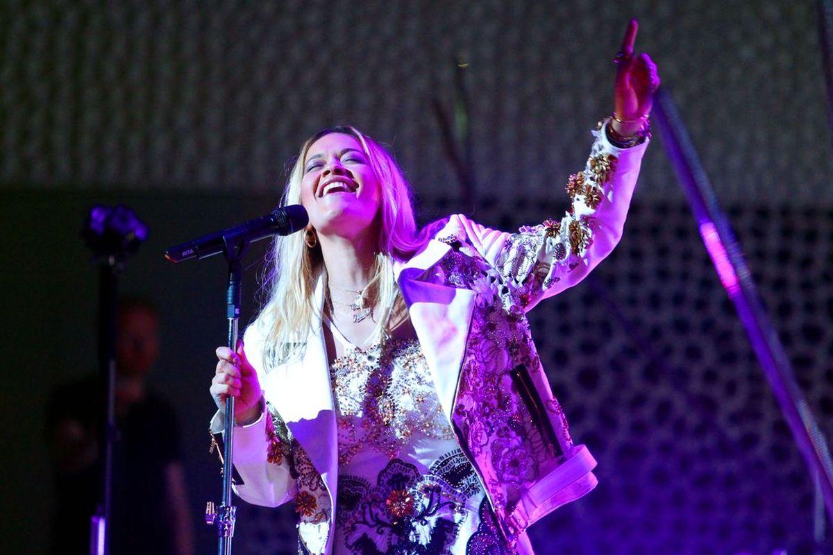 Rita Ora in der Elbphilharmonie