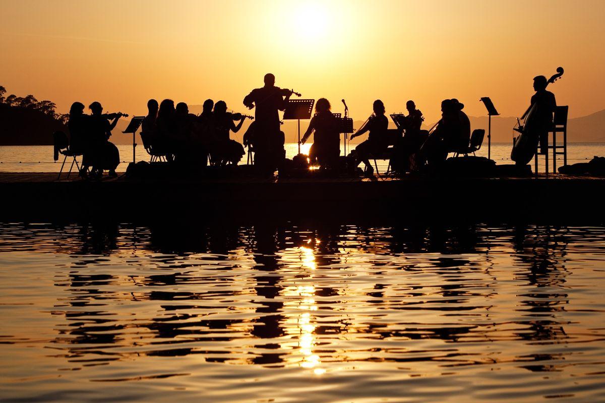 August: Classical Music on the Sea im Hillside Beach Club an der Lykischen Küste