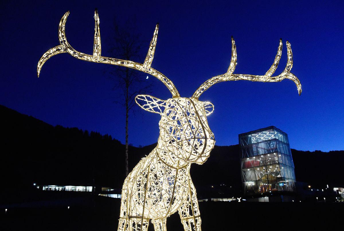 Dezember: Winterwunderland von Tord Bontje, Swarovski Kristallwelten