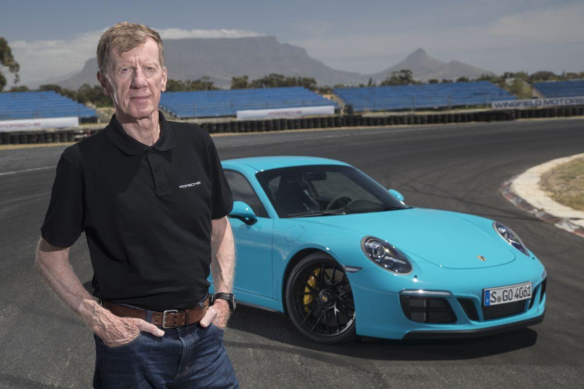 Walter Röhrl mit dem Porsche 911 GTS