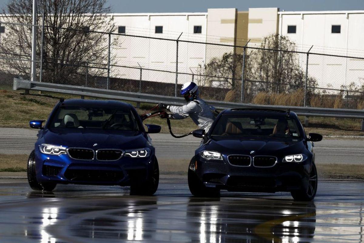 BMW M5 Drift, Weltrekord