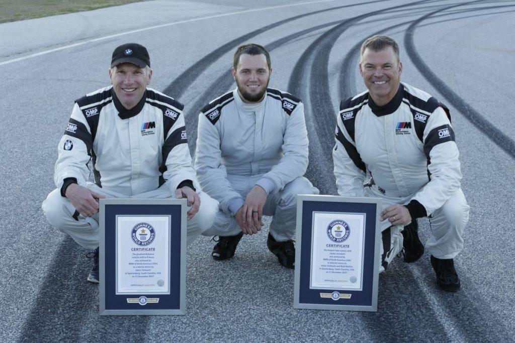 Johan Schwartz, Matt Butts und Matt Mullins