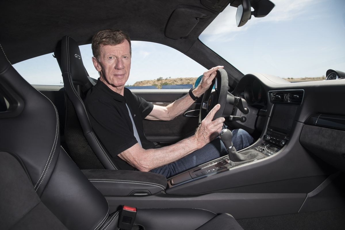 Walter Röhrl im Porsche 911 GTS