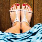 Fashion-Profi? Flache Schuhe und Röcke