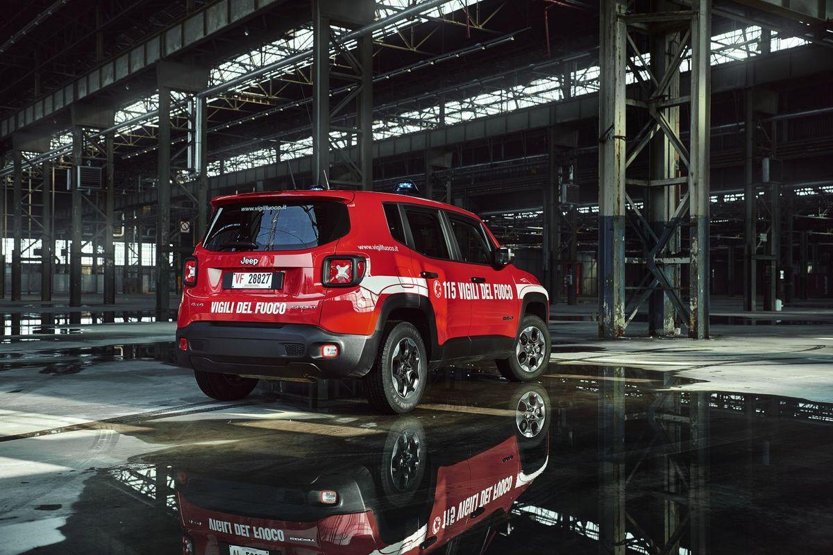 Jeep Renegade, Feuerwehr Italien