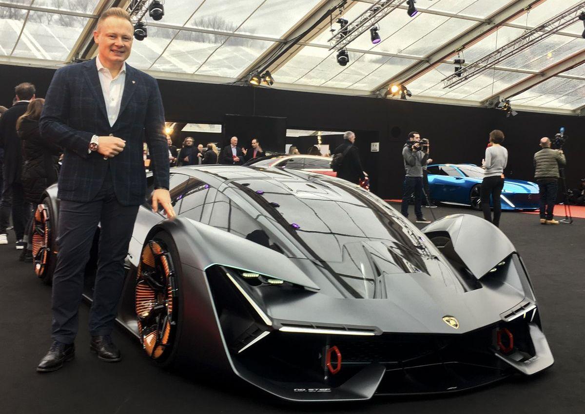 Mitja Borkert, Lamborghini Terzo Millennio