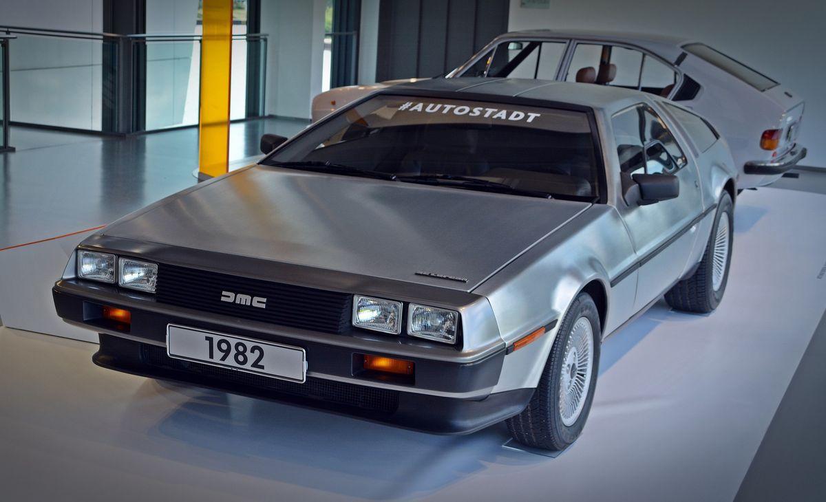 Galt früher als Zukunft: DeLorean DMC-12
