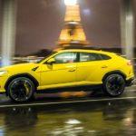 Lamborghini: Showroom in Paris