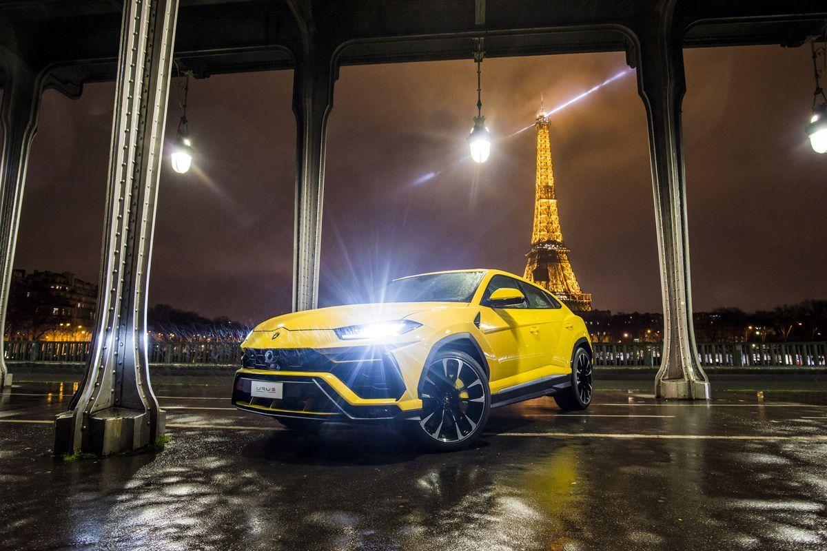 Lamborghini Urus, Paris