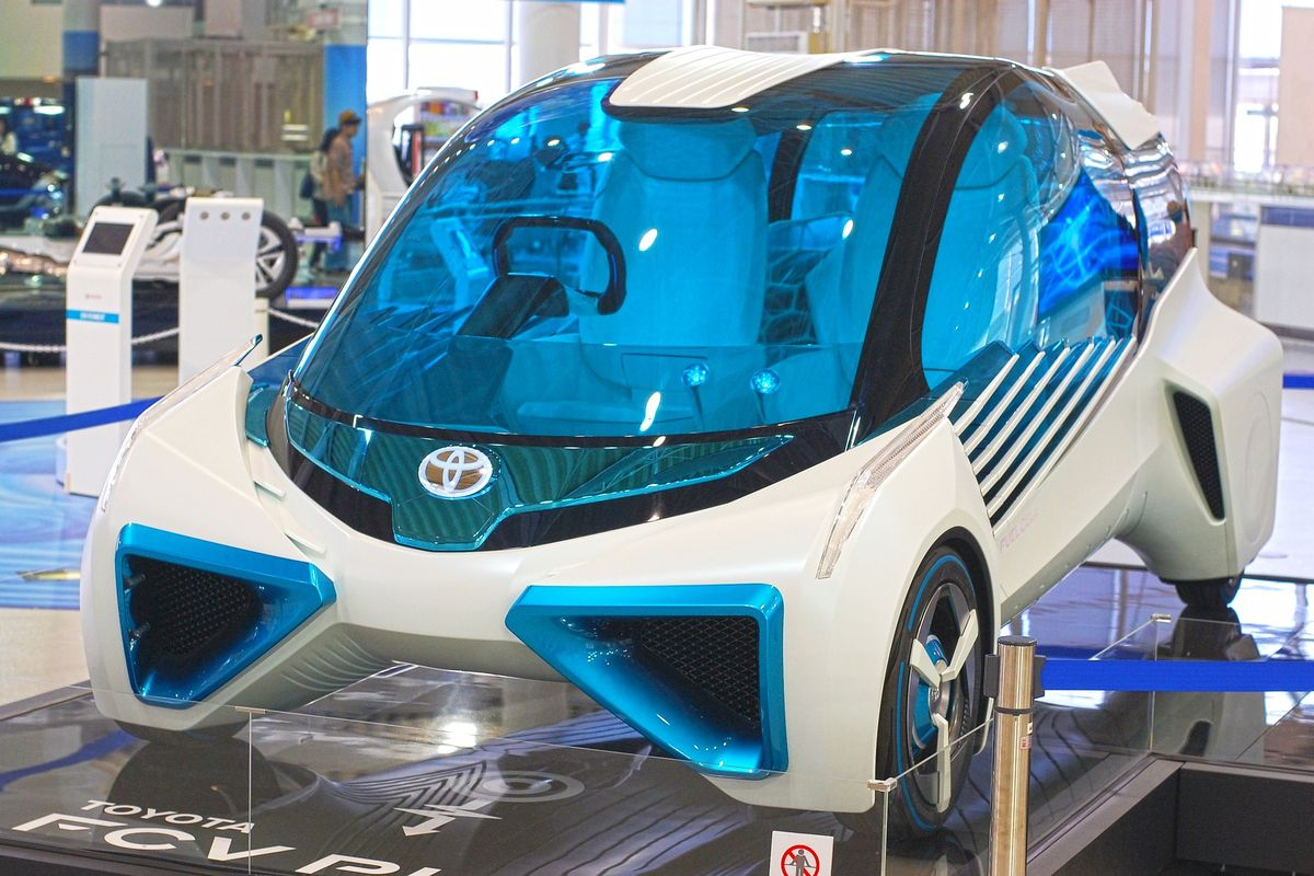Toyota arbeitet am Auto der Zukunft