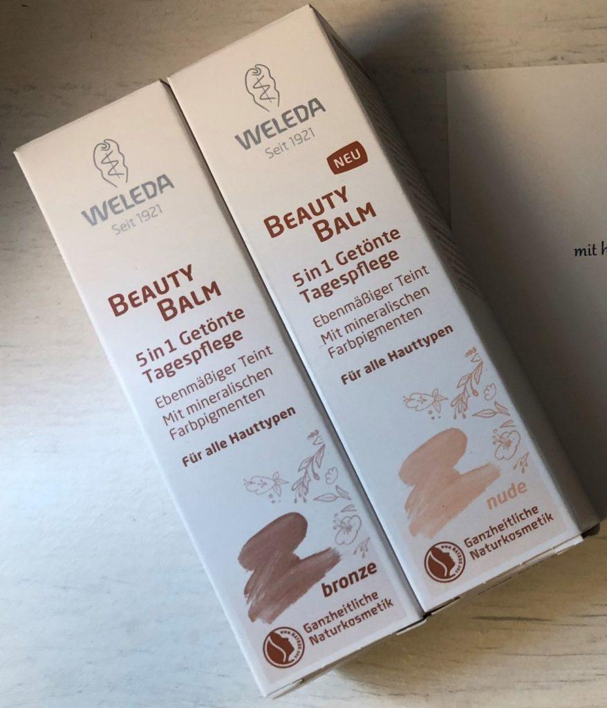 Weleda Beauty Balm 5in1 - Getönte Tagespflege - bronze / Weleda Beauty Balm 5in1 - Getönte Tagespflege - nude