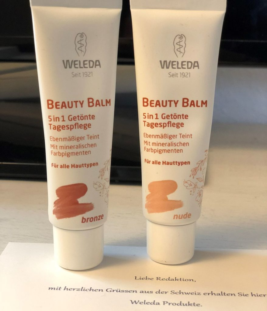 Weleda Beauty Balm 5in1 - Getönte Tagespflege - bronze / Weleda Beauty Balm 5in1 - Getönte Tagespflege - nude