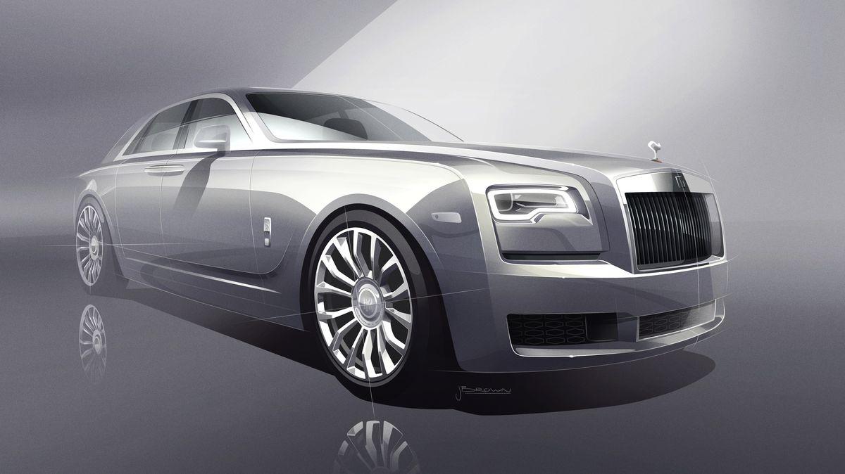 Rolls-Royce Ghost als Sonderserie zur Erinnerung an das Original von 1905