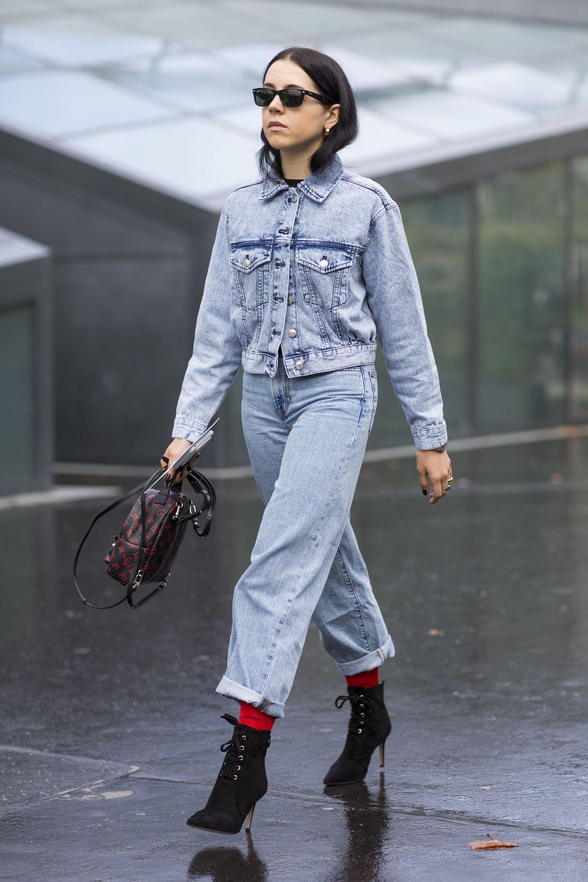 Denim Fashion Inspiration From Instagram | The Jeans Blog