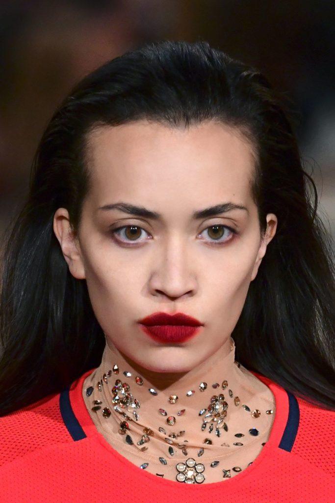 Smudged Lips, Paris Fashion Week