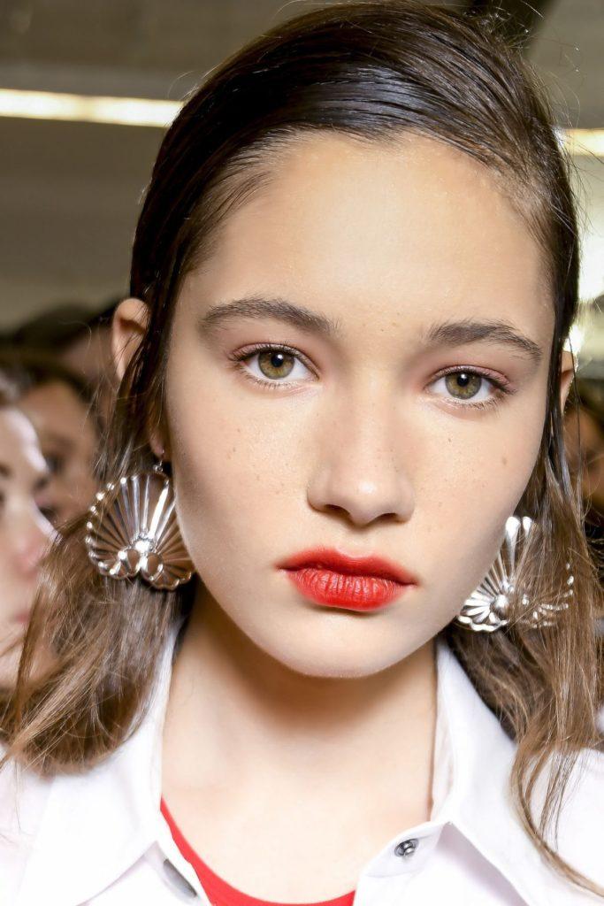 Smudged Lips, Milan Fashion Week