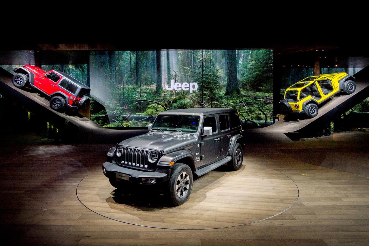 Genf: Jeep hatte den schönsten Stand