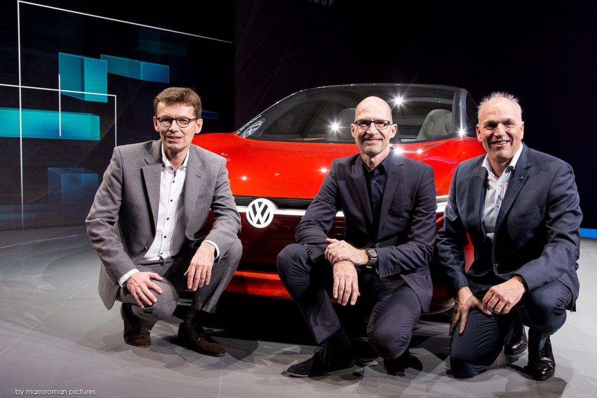 Dr. Frank Welsch, Klaus Bischoff, Jürgen Stackmann