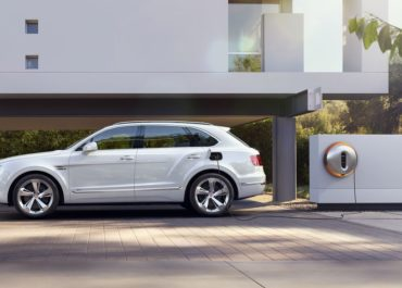 Philippe Starck: Power Dock für Bentayga Hybrid