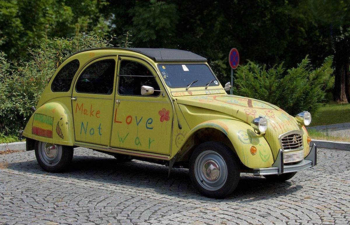Ente: Citroën 2CV