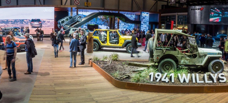 Jeep hatte den schönsten Stand