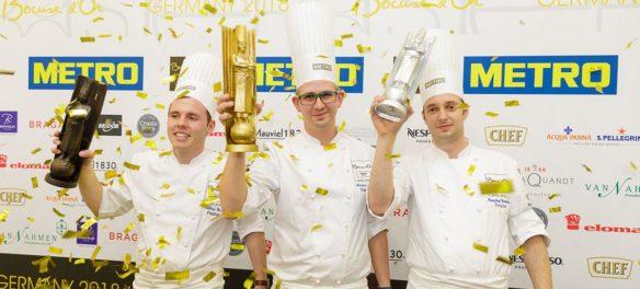 Marvin Böhm gewinnt den Bocuse d'Or Germany 2018